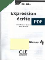 Expression e Crite Niveau 4