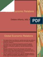 Global Economic Relations