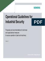 Operational Guidelines Industrial Security En