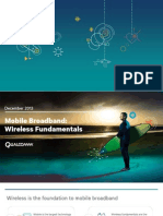 The Magic of Mobile Broadband Wireless Fundamentals
