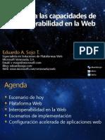 Descubra las capacidades de interoperabilidad en la web con soluciones Microsoft