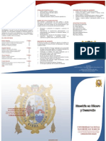 21 SM Programa Maestria en Genero y Desarrollo 2010