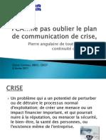 communicationdecrisebciecomeau8fev2011f-110207182615-phpapp01