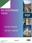 Basic Sanitary Wastewater Treatment