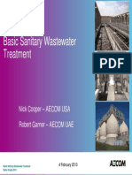 Basic Sanitary Wastewater Treatment