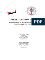 Recommendations for Improving the Regulations on  Street Vending in New York City
