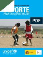 Guia Deporte Para Un Mundo Mejor Baja (UNICEF y CSD)