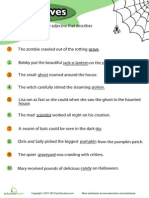 Halloween Adjectives 1