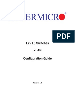VLAN Configuration Guide | Network Switch | Port (Computer