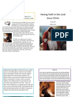 Lesson 29 Having Faith in the Lord Jesus Christ Booklet
