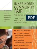 Inner North Community Fair Sun 20 Sept Flyer
