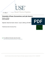 1.3quijano_Coloniality of Power, Eurocentrism, And Latin America