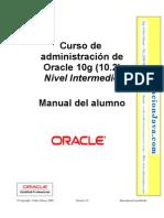 Curso de Oracle 10g Administracion nivel Intermedio