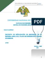 PROYECTO DE SEÑALIZACIÓN ARSOL scribd