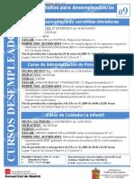 Cartel Cursos dos Enero 2009