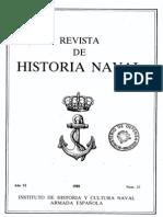 Revista de Historia Naval Nº22. Año 1988