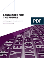 Languages for the Future Report