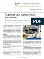 H2 Plant Optimization