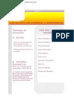 Catalogo de Cursos Fdc