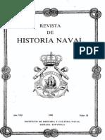 Revista de Historia Naval Nº31. Año 1990