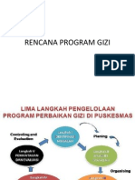 Rencana Program Gizi