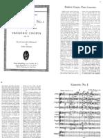 Chopin - 1st Piano Concerto in E Minor - Full Score