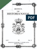 Revista de Historia Naval Nº34. Año 1991