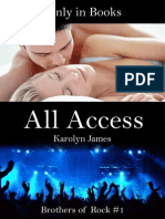 All Access (BOR #1) Karolyn James