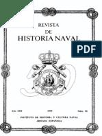 Revista de Historia Naval Nº50. Año 1995