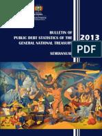 Boletín de Estadísticas de Deuda TGN - PRIMER SEMESTRE 2013 - Inglés