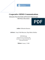 CooperativCooperative MIMO Communicationse MIMO Communications
