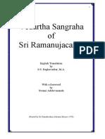 Vedanta Sangraha by Sri Ramanujacharya