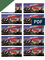 Champion City Comics Labels