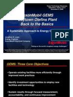 ExxonMobil G-EMS Initiatives BOP Final Ex Notes