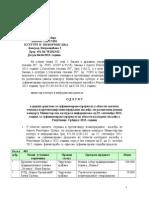 Rezultati konkursa- Zaštita, očuvanje i prezentacija nematerijalnog nasledja- 11-9