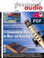 Article on SPL Volume 2 from professional Audio Magazine