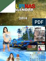 Pilipinas Calendar 2014