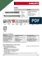 44 - HVZ Adhesive Anchor