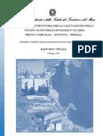 Priolo Augusta Melilli Decreto 2008 Studio_sicurezza_integrato