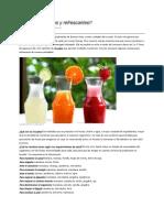 Licuados Nutritivos y Refrescantes