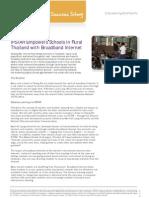 IPSTAR Empowers Schools in Rural Thailand With Broadband Internet