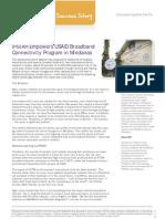 IPSTAR Empowers USAID Broadband Connectivity Program in Mindanao