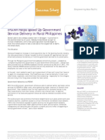 IPSTAR Helps Speed Up Government Service Delivery in Rural Philippines