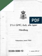 2320-508-12 Handbog, 2 1-2 t GMC, 6x6, Alle Typer (Mar 1964)
