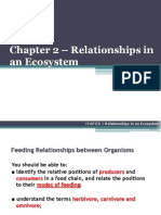 Chapter 02 - Relationships in an Ecosystem