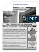 Cespe 2013 Tj Df Tecnico Judiciario Area Administrativa Prova