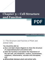 Chapter 03 - Cell Structure and Function