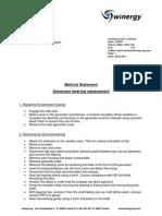 UPDATED - Method Statement bearing exchange.pdf