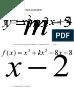 Maths O Level Revision set 1