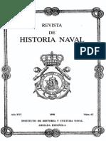 Revista de Historia Naval Nº62. Año 1998